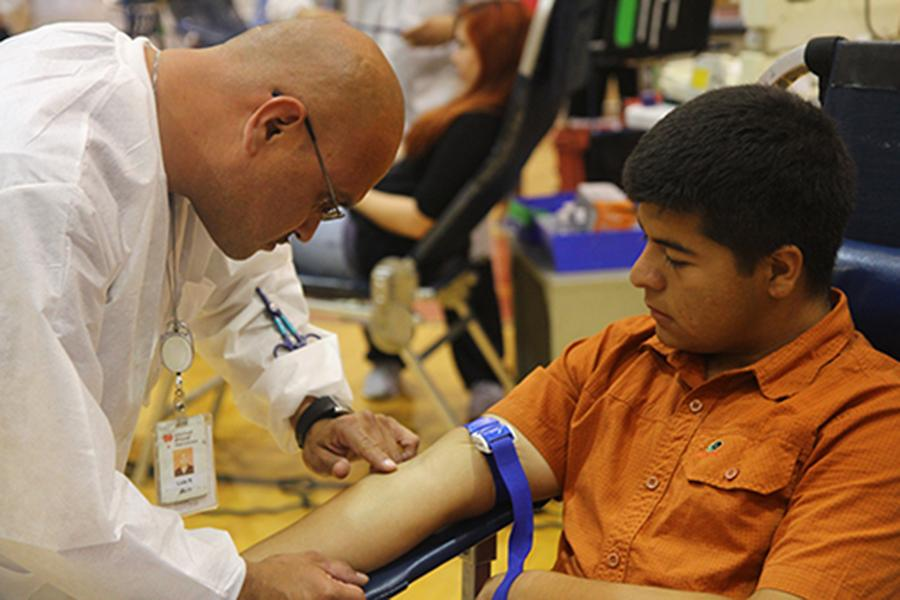 EDHS donate over 237 units in blood drive