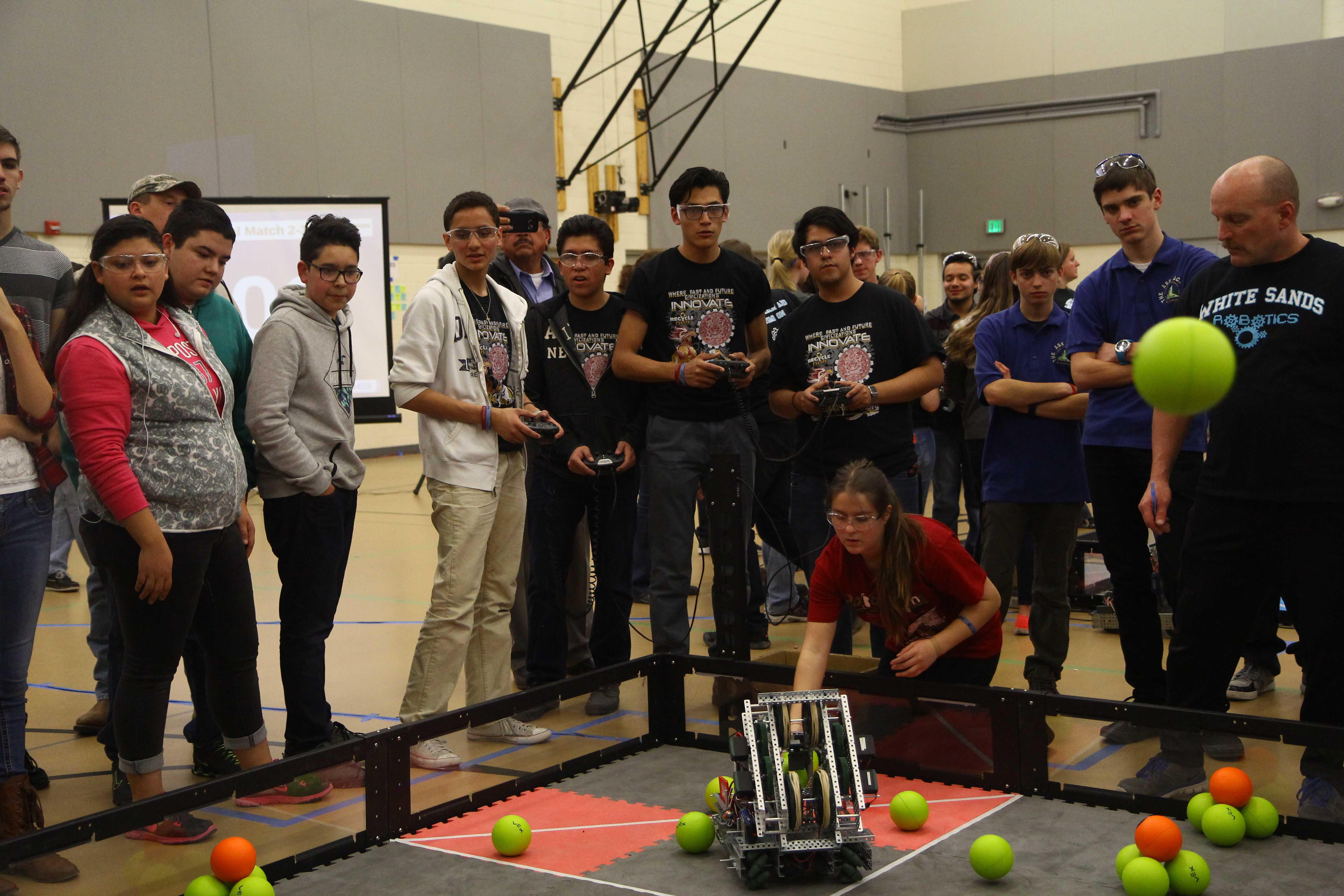 RoboAzTechs on a RoboRoll