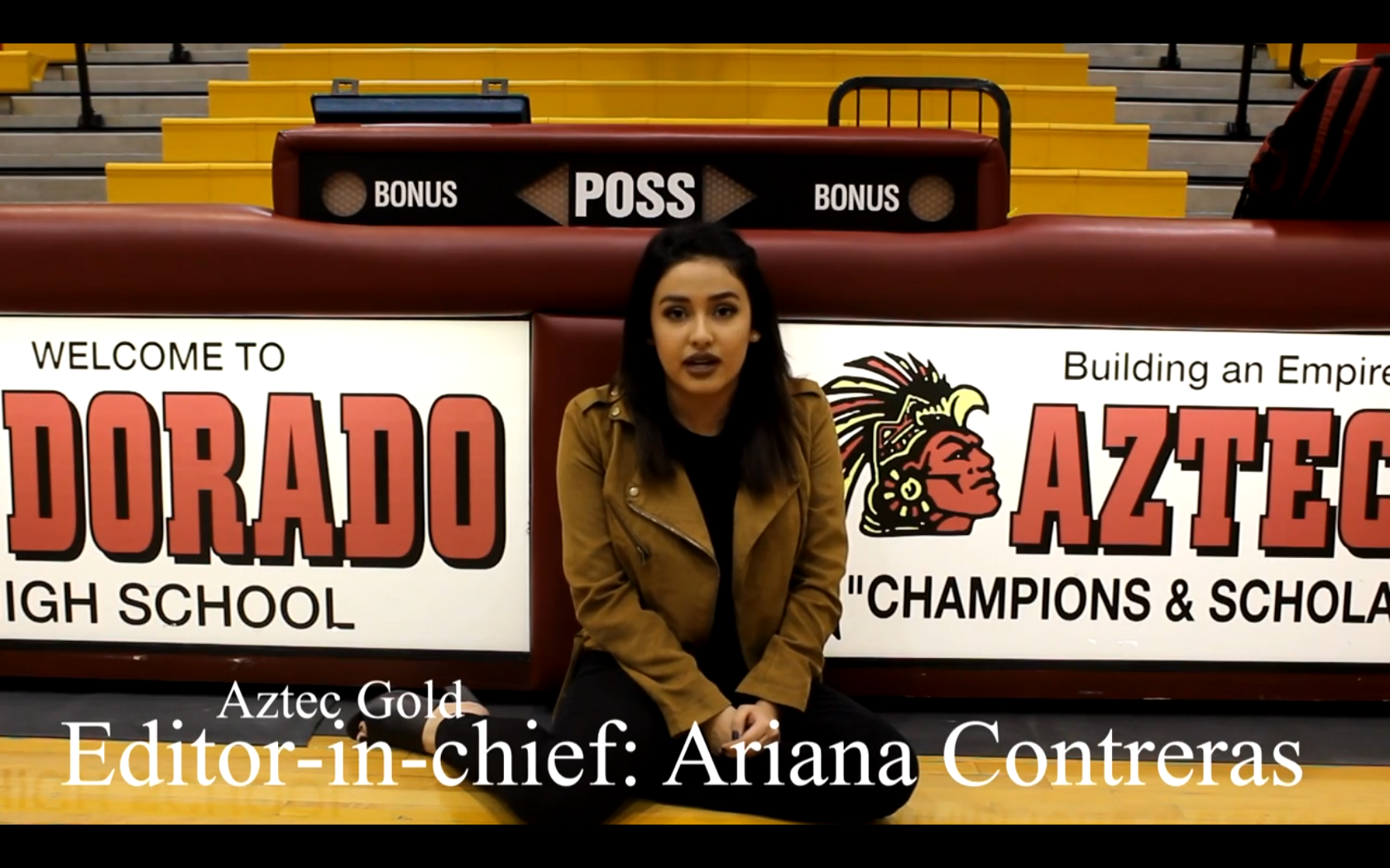 Aztec Gold and Yearbook Promotional Video