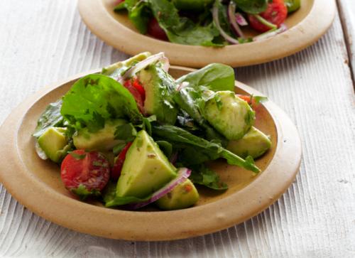 Luci's Veggie Corner: Avocado Salad with Lime Dressing