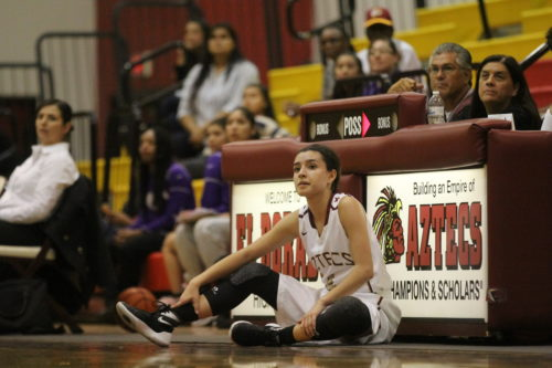 Lady Aztecs Struggle in Home Opener Against Burges 62-38