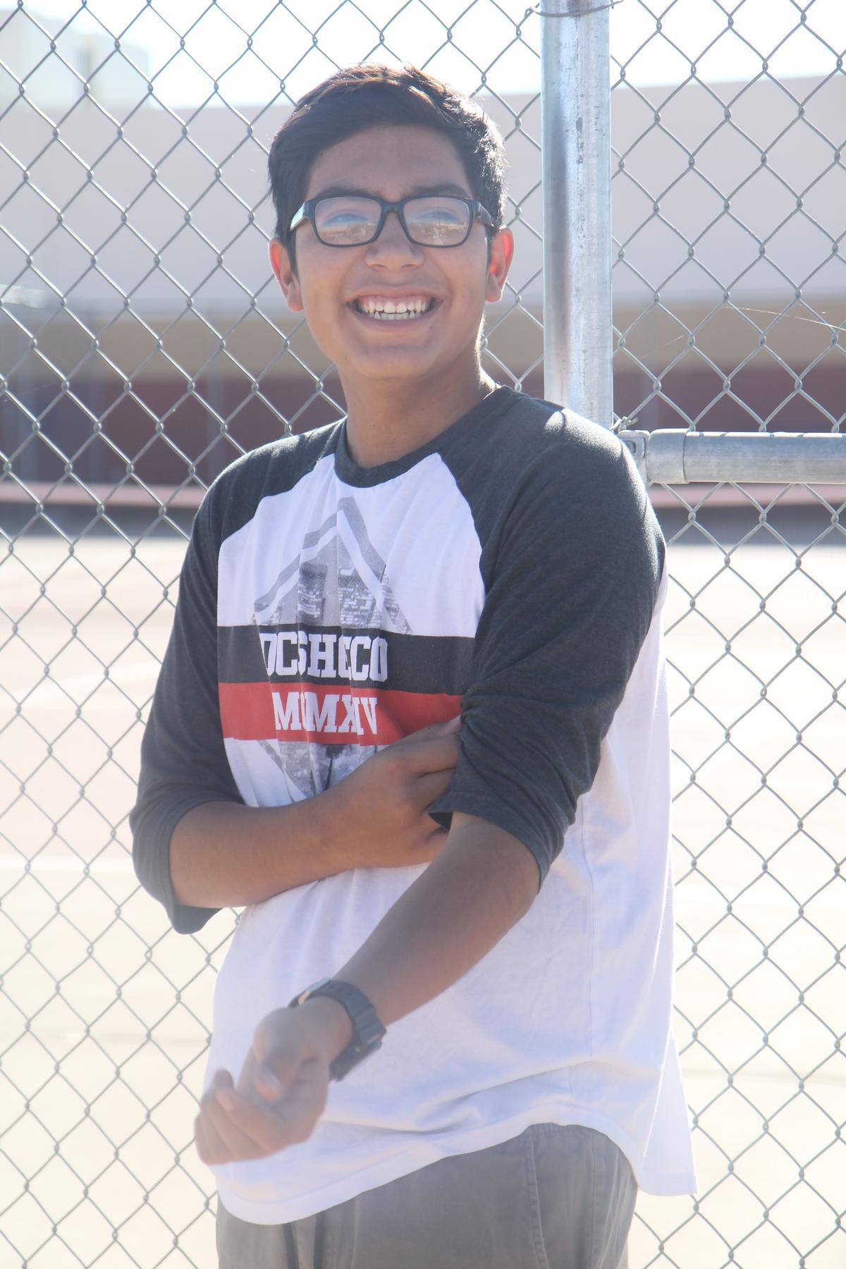 Coach's Pick: Tennis Player of the Month: Bryan Canales Sophomore
