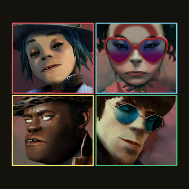 Ranking+the+new+Gorillaz+singles