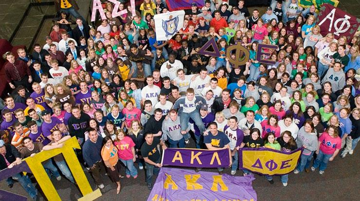 College stuff: fraternities & sororities