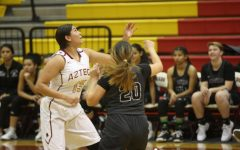 The Lady Aztecs Defeat the Lady Knights
