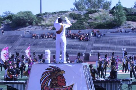 Marching band makes history at TOB competition