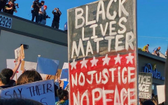 Protestors march in support of Black Lives Matter this summer.