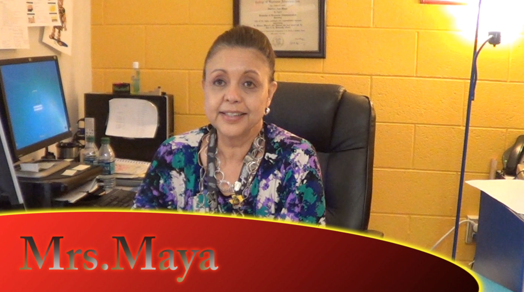Interview with Mrs. Maya!