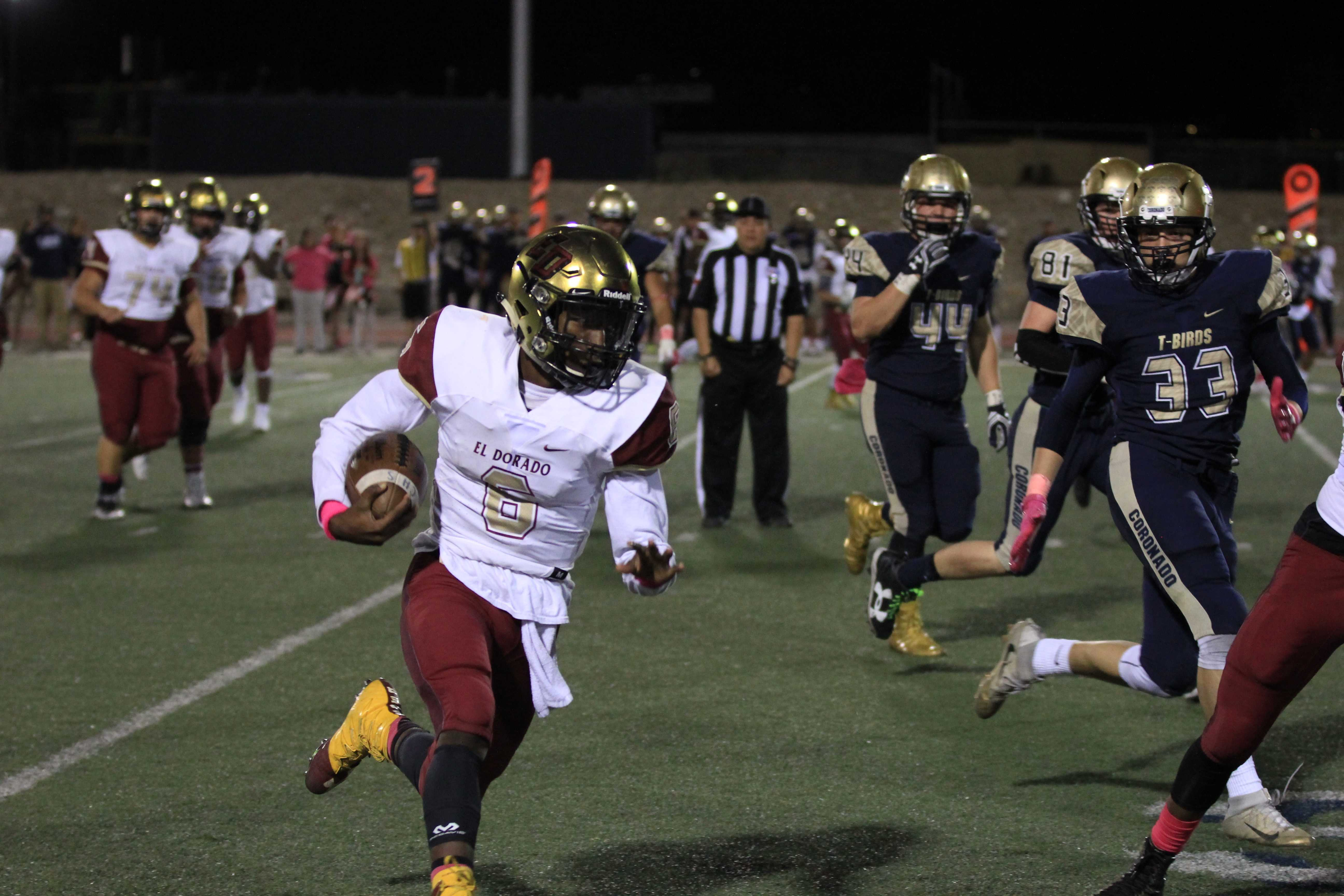 Aztecs Handle Coronado T-Birds 32-28