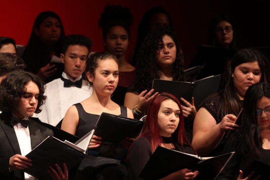 Choir celebrates winter season with concert