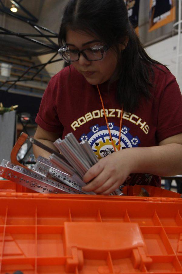 Robotics team wins award at FTC championship