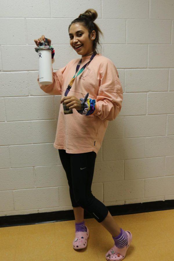 Senior Kimberly Valdez
